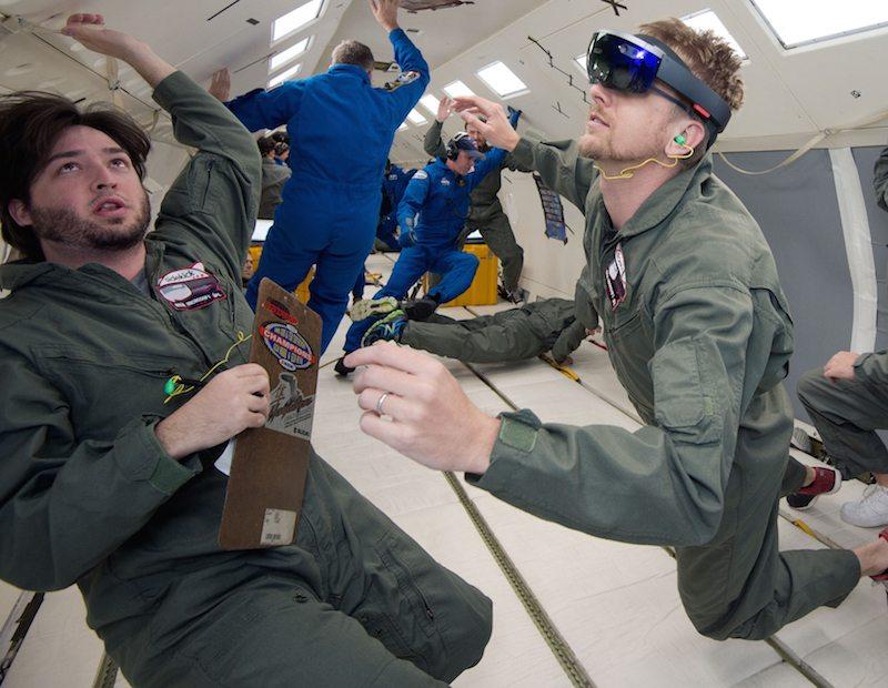 PHOTO DATE: 05-06-15 LOCATION: Ellington Field - NASA C-9 Aircraft SUBJECT: Reduced Gravity Office's JPL research flights. Flight 3 PHOTOGRAPHER(S): BILL STAFFORD